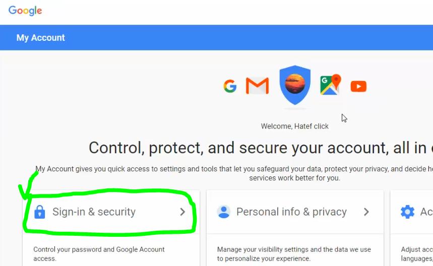نحوه فعالسازی تایید دو مرحله ای گوگل